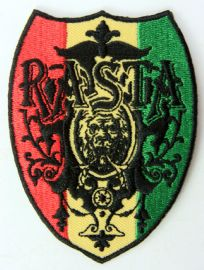 Rasta 'Shield'  - Embroidered Patch